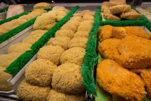 Breaded Meats Counter
