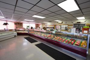 Inside Store Beef Counter